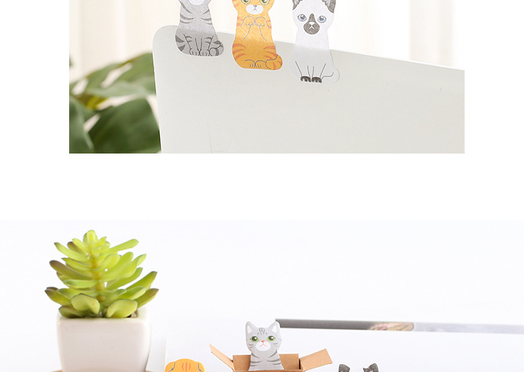 Cute kitten note sticking comet man sticky note NHHE156166