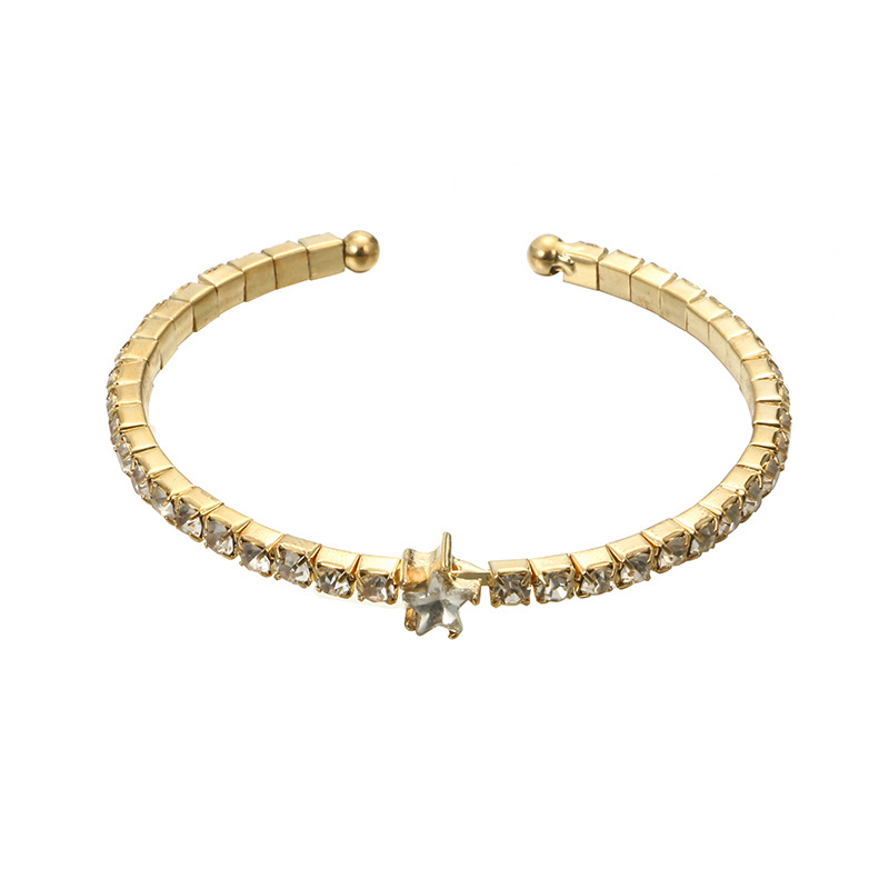 Alloy Fashion Geometric bracelet  (Alloy) NHGY2658-Alloy