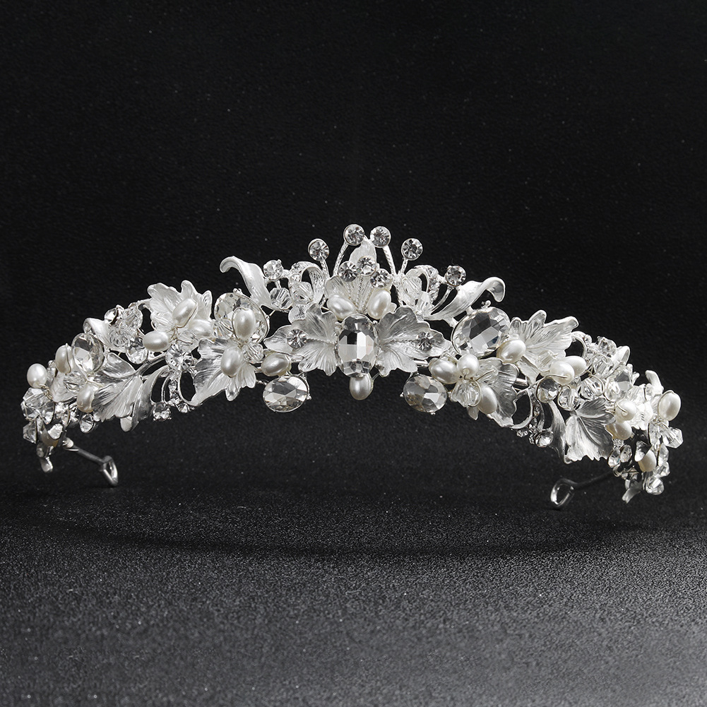 Alloy Fashion Flowers Hair accessories  (Alloy) NHHS0577-Alloy