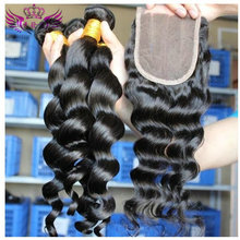 歐美假發 Brazilian loose wave and lace closure 工廠批發 代發