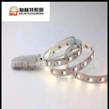 贴片LED3V电池盒灯带 2835单色暖白60灯 3v4.5v礼品盒纽扣灯条