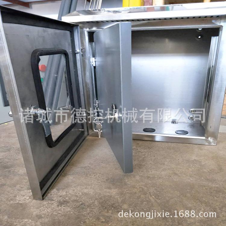 定制室外304不锈钢配电箱双层门配电箱防雨箱按钮控制仪表