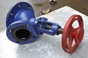 厂家供应搪瓷放料阀DN125/80搪玻璃反应釜放料阀化工设备配件阀门