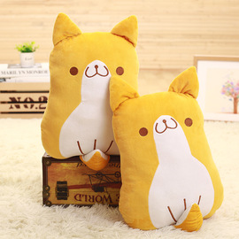 Source simulation new Shiba Inu doll office nap pillow children room layout creative home decoration