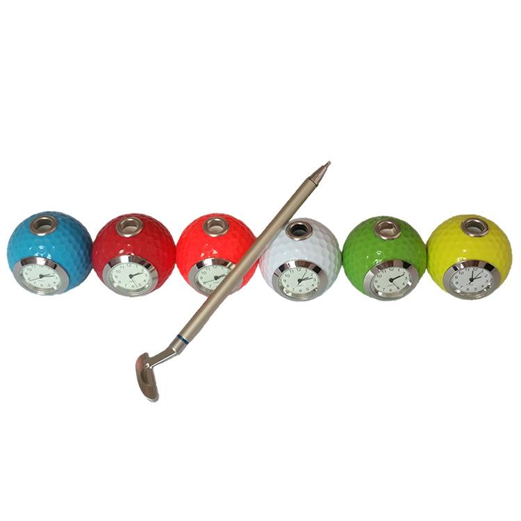 跨境专供创意金属高尔夫球礼品笔 促销礼品笔定制LOGO