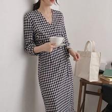 Đầm nữ thời trang, thiết kế cổ điển, phong cách vintage Hàn