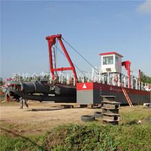 九江10寸的絞吸式挖泥船小時出200方土方可挖深十五米