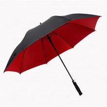 双层高尔夫伞长柄男士超大双人伞定制印刷logo印字广告伞定制定做