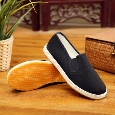 Tai chi kung fu shoes for men and women Beijing shoes men's clothing shoes with thickened soles and breathable tendons