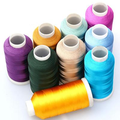 龙结手工绣花线丝线人造丝流苏线冰丝穗子线120D织带厂家批发