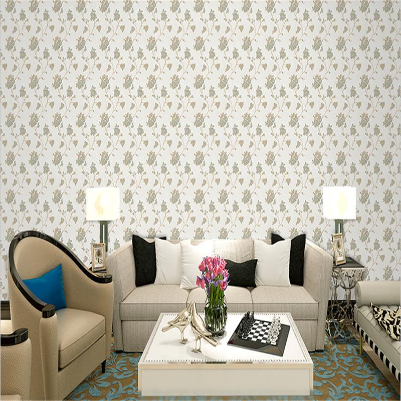 包邮素雅提花墙布现代客厅卧室背景墙环保无缝壁布高档家装壁纸