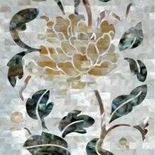 贝壳马赛克棉砖拼花墙地面装饰背景墙环保建材装饰材料天然石材