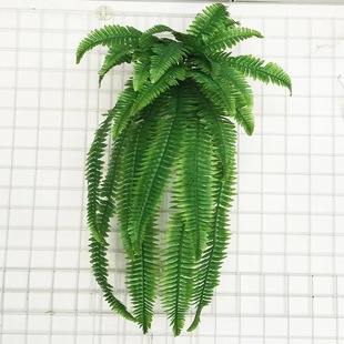 Simulation Persian wall hanging small Persian bunch of plant wall background decoration green plants Persian fern grass fake leaves