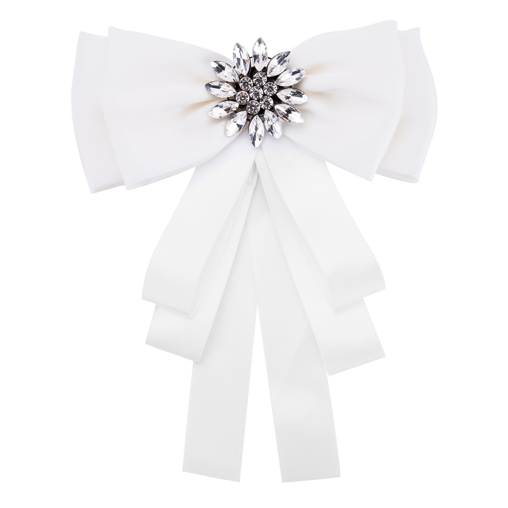 Alloy Fashion Bows brooch  (Pink) NHJE0994-Pink