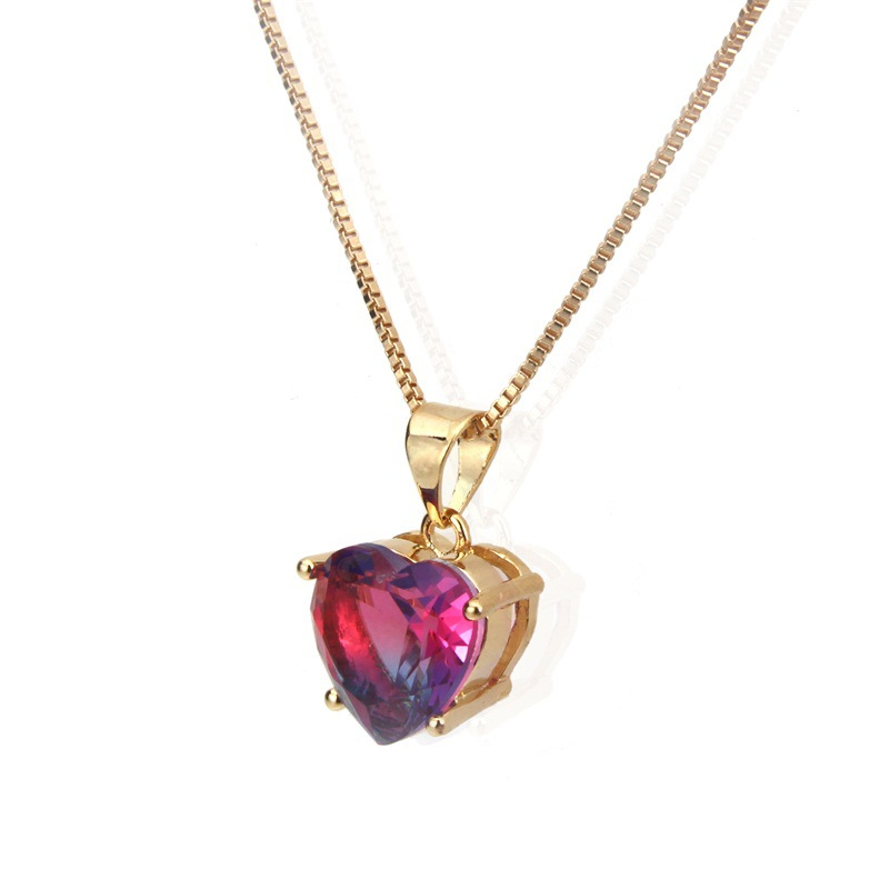 Copper Simple  necklace  (Alloy-plated two-tone)  Fine Jewelry NHBP0357-Alloy-plated-two-tone