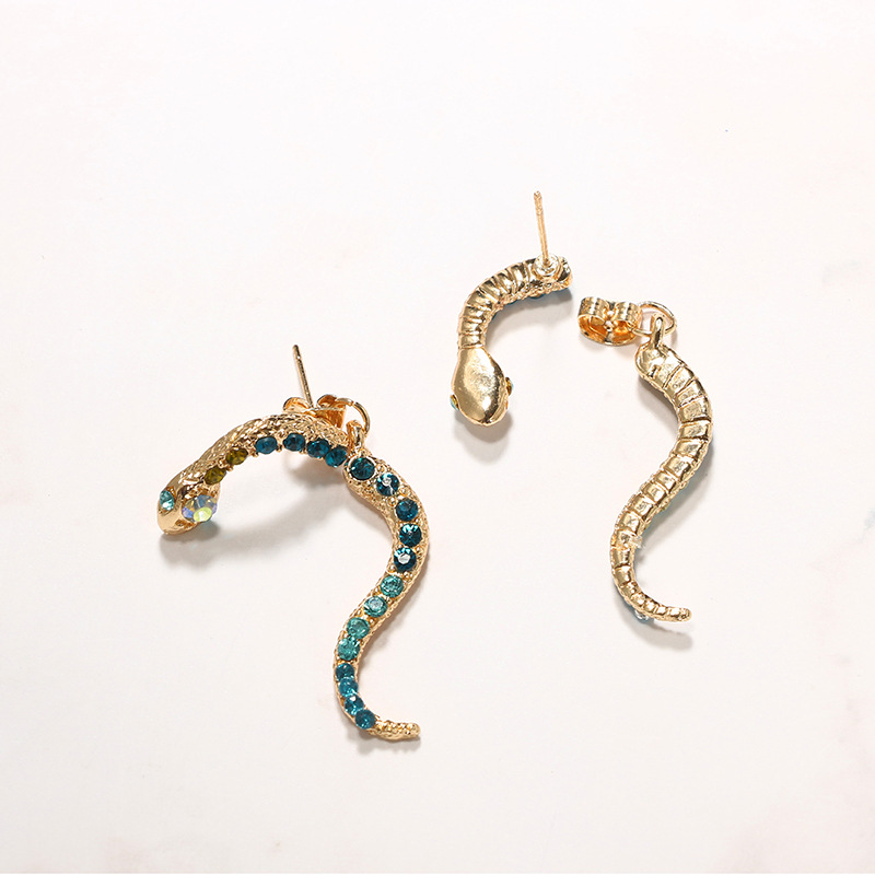 Alloy Fashion Animal earring  (green) NHGY2400-green