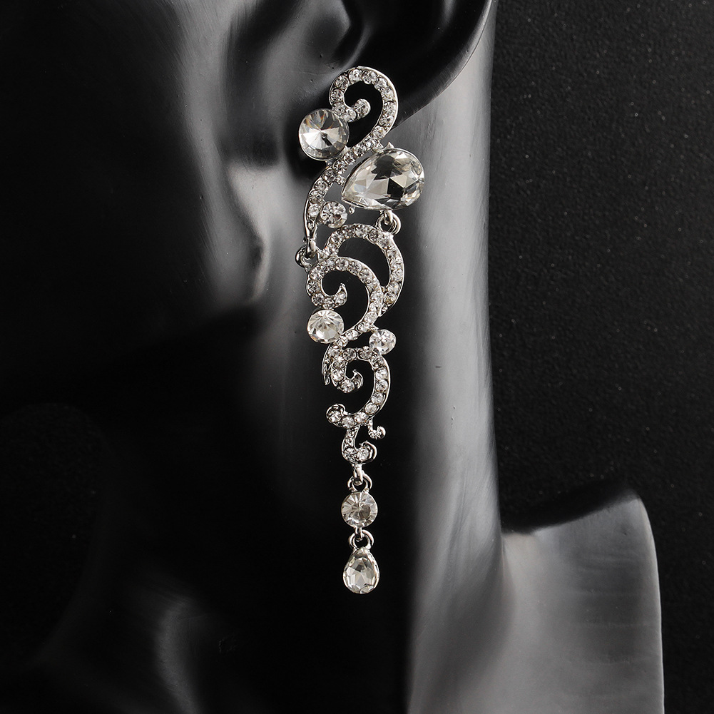 Alloy Fashion Flowers earring  (Alloy) NHHS0435-Alloy