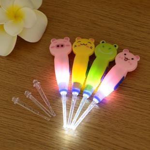 Cartoon animal detachable clean ear pick luminous ear pick multi-function ear pick tool T