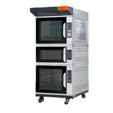 千麦QM-Z3Y面包烤箱三用组合炉上热风中层炉下醒发箱食品烘焙机械
