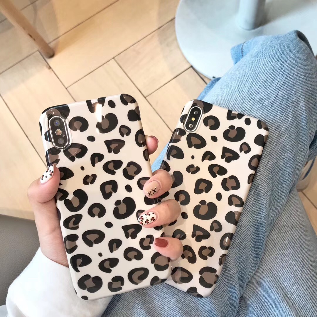 Leopard iPhonexsmax Mobile Shell Europe and America Luxury Applicable Apple 6s Personality Creative 7P8 Atmosphere Female XR
