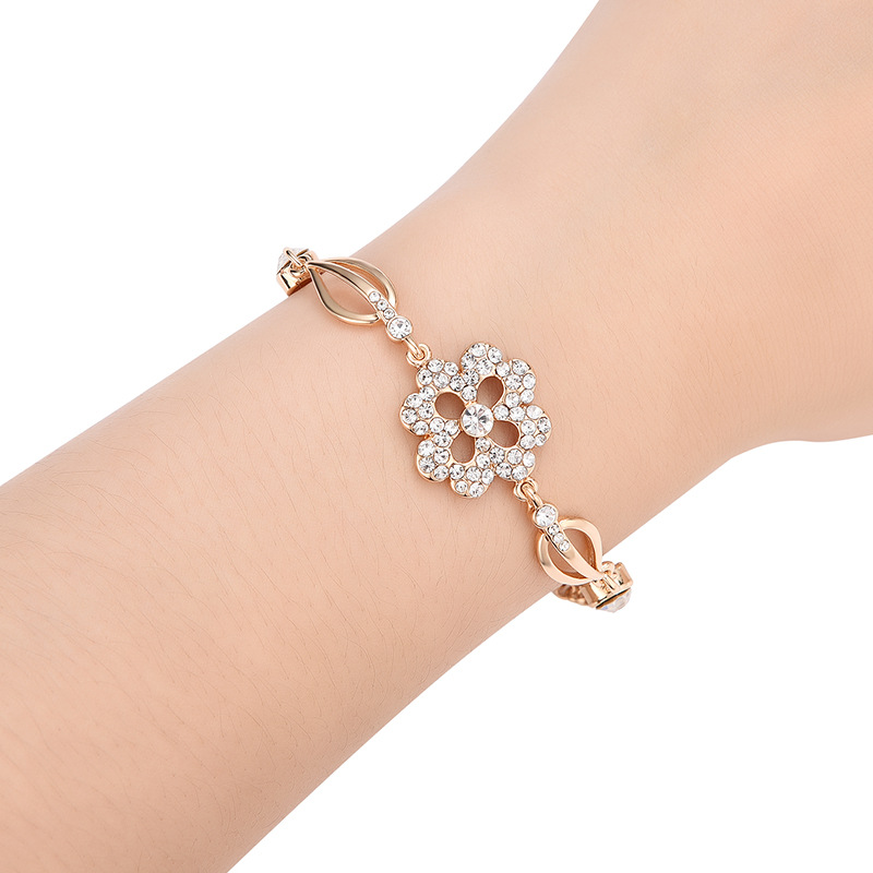 Alloy Fashion Geometric bracelet  (61186373) NHXS2106-61186373