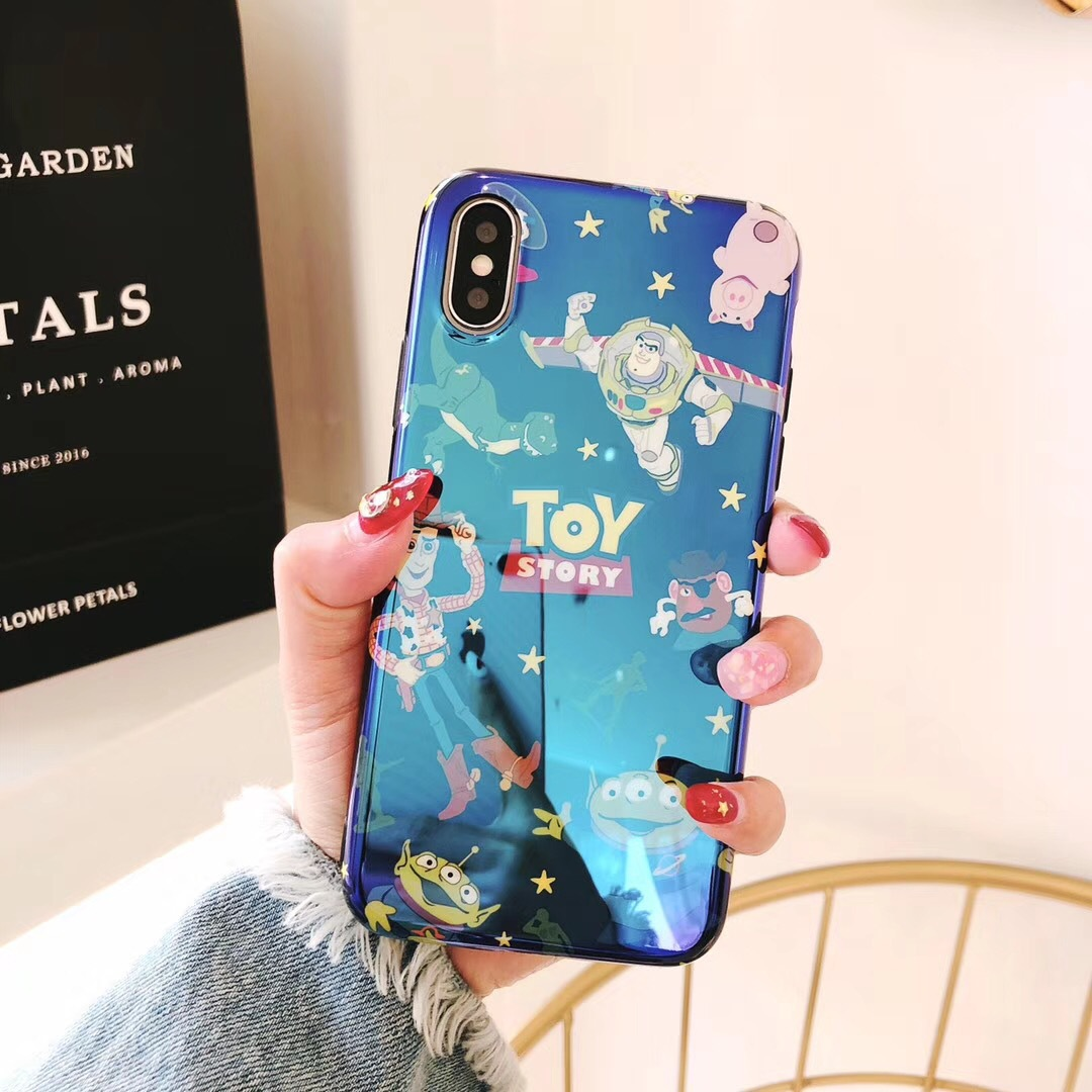 Cute three-eyed toy story Apple 6splus mobile phone shell 7 female 8plus personality creative 6s new male 6