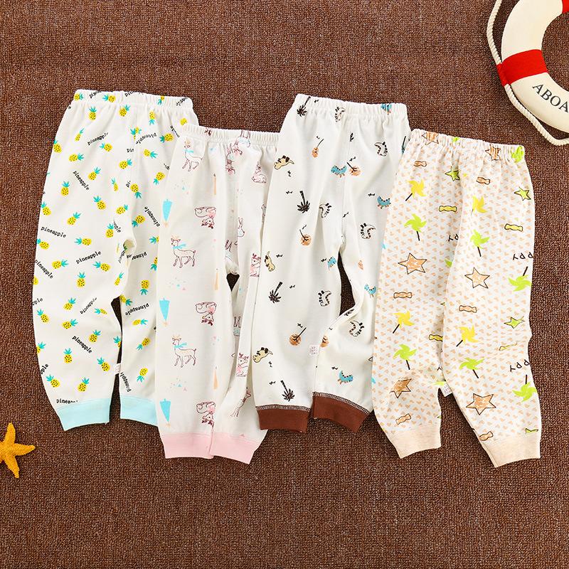 单条儿童内裤棉质婴幼儿打底长裤子棉两用档男女童秋裤一件代发