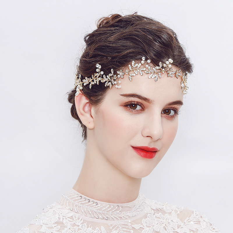 Alloy Fashion Flowers Hair accessories  (Alloy) NHHS0073-Alloy
