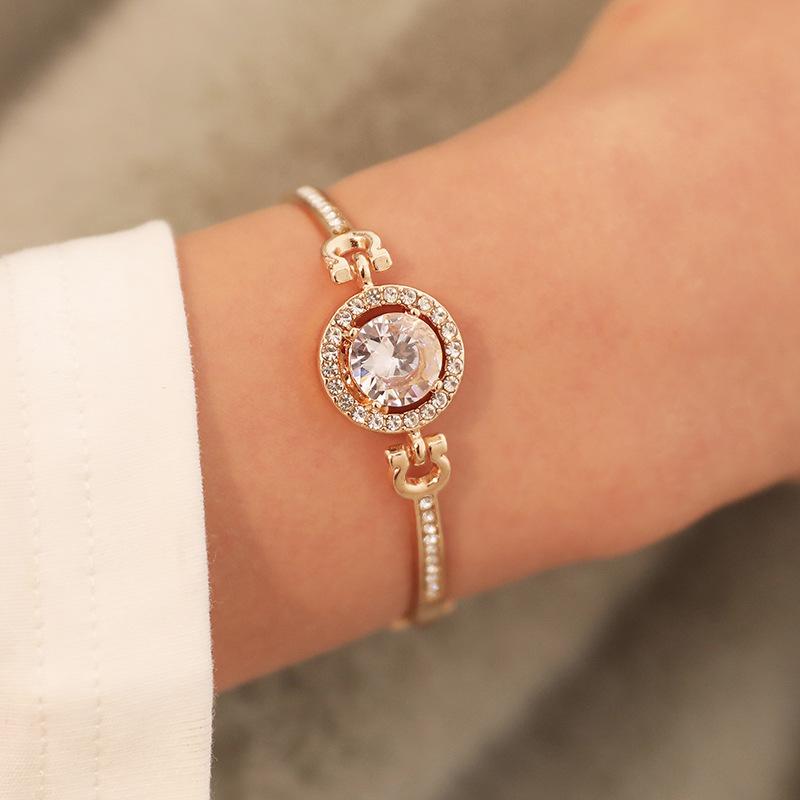 Best selling jewelry wholesale ladies bracelet flash diamond bracelet bracelet jewelry bracelet NHCU194795