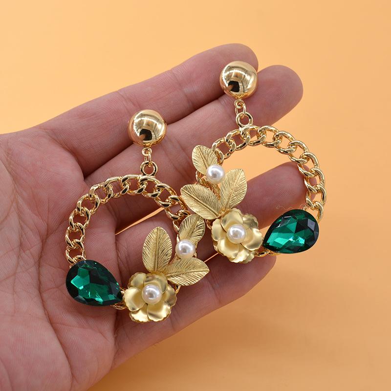Alloy Fashion Flowers earring  Alloy NHNT0602Alloy