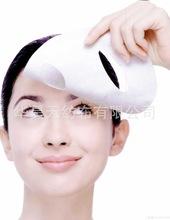 全粘胶水刺无纺布定制 棉柔巾化妆棉面膜纸专用