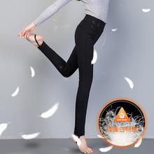 厂家微商爆款小蛮腰羽绒裤外穿女90白鸭绒加长发热暖反季羽绒棉裤