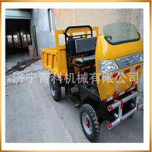 廠家農用自卸式四輪運輸車 柴油四輪工程自卸式貨車 車斗可定制