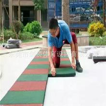 深圳公园橡胶地垫批发 小区健身区地砖购买 2.5厚塑料胶垫销量快
