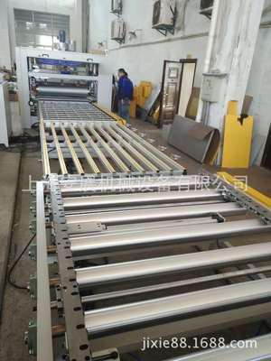 上海牌AZJ-PUR热熔胶地板砖平贴生产线,PUR热熔胶贴合生产线