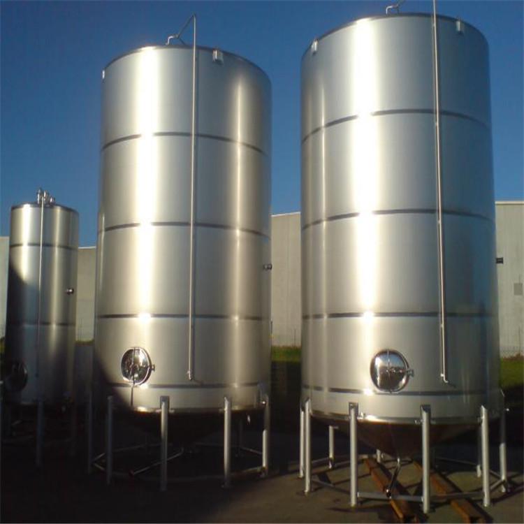 定制二手不锈钢搅拌罐 不锈钢油罐 20-50吨不锈钢储罐 价格