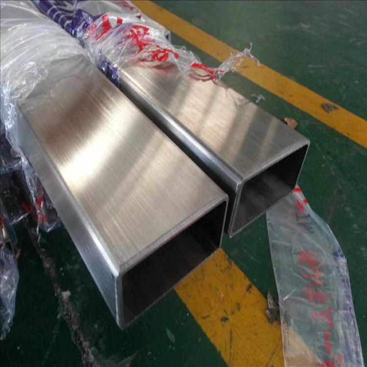 304不锈钢矩形管50*100*4.0 40*80*3.0中山机械设备制造厂专用管