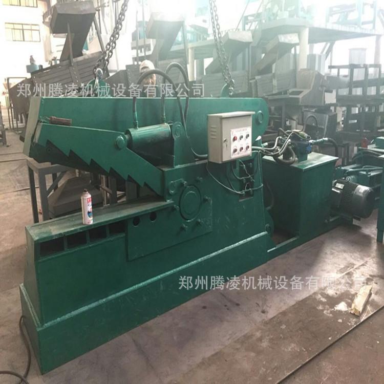 液压废旧金属鳄鱼剪切机 废钢材金属切断机 200吨大型鳄鱼剪