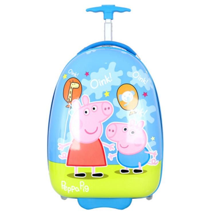 厂家直销儿童拉杆箱 卡通儿童行李箱16寸防水耐磨定制LOGO