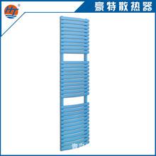 厂家定制 异型钢制背篓 弯管 平板暖气片 钢制复合散热器 蓝色