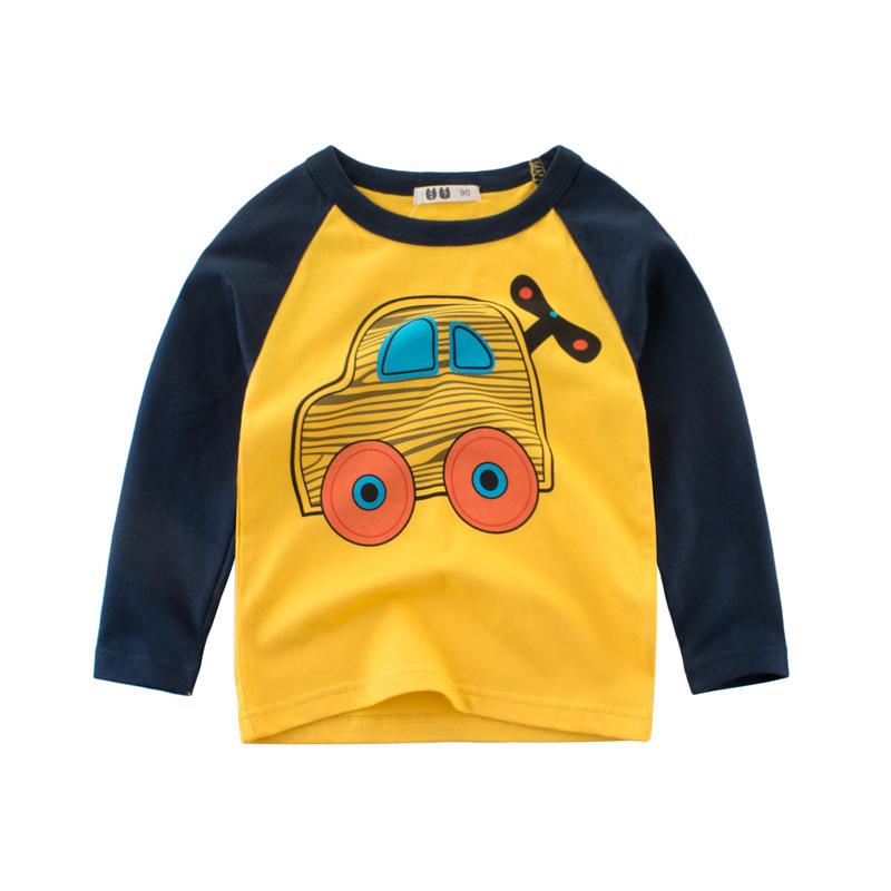 2020童装秋款新品打底衫 儿童韩版长袖男童T恤宝宝体恤男孩子衣服