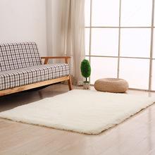 厂家直销丝毛地毯现代简约客厅方块丝绒地毯地垫 多色好打理