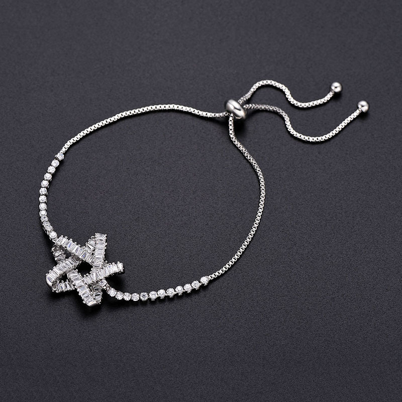 Alloy Simple Geometric bracelet  (66186030) NHLP1132-66186030