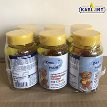 2021.5月德国进口小熊糖DM as儿童多种复合维生素小熊软糖60粒