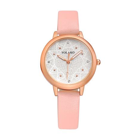 Thời trang nữ ngoại thương đồng hồ tùy chỉnh YOLAKO mười hai điểm khoan xem đồng hồ nữ sinh viên bán buôn
