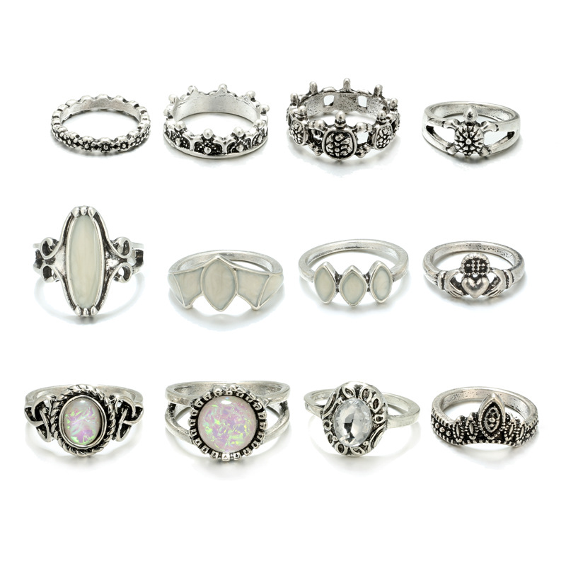 Alloy Vintage  Rings  Main section NHGY1027Main section