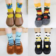 P888儿童袜子批发 卓上棉品童袜秋冬新品男女宝宝运动袜全棉短袜