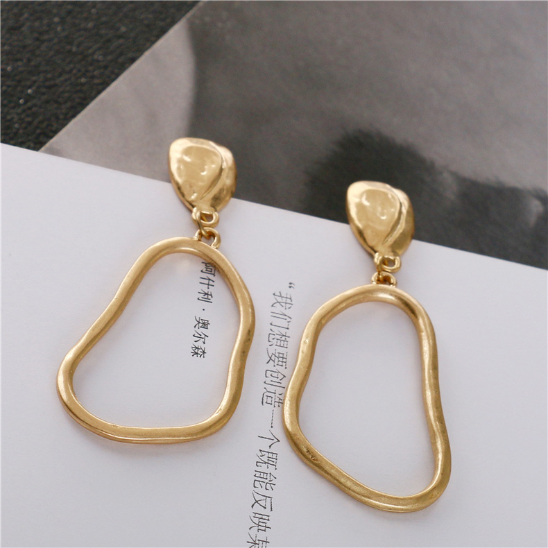Alloy Fashion Geometric earring  (Photo Color) NHQS0003-Photo-Color
