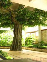 工厂定做包柱榕树仿真大树美化装饰绿化树可上门安装