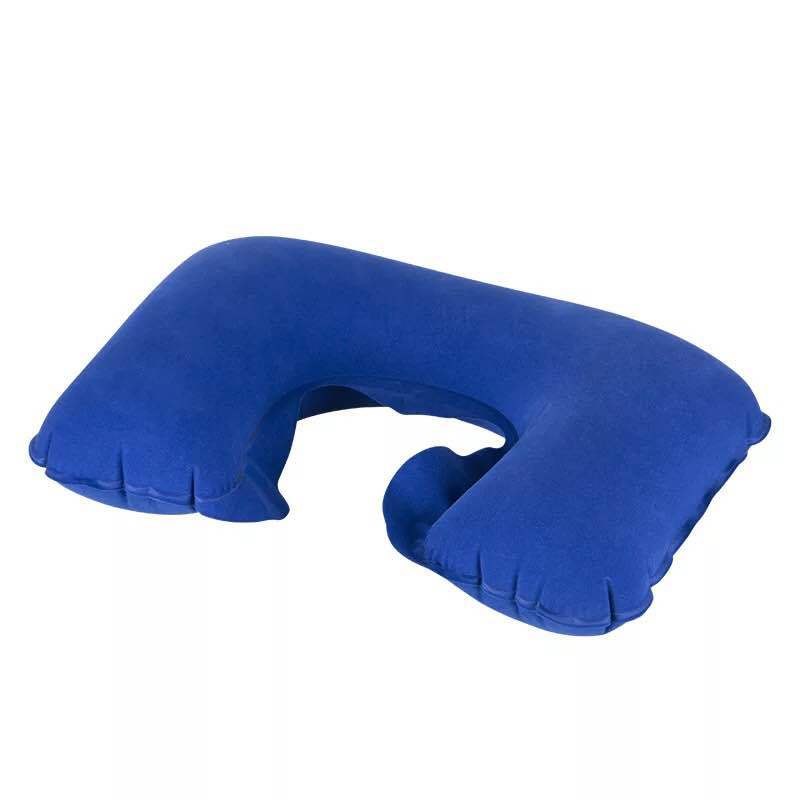 Fashion inflatable flocking health cervical pillow NHWW142505